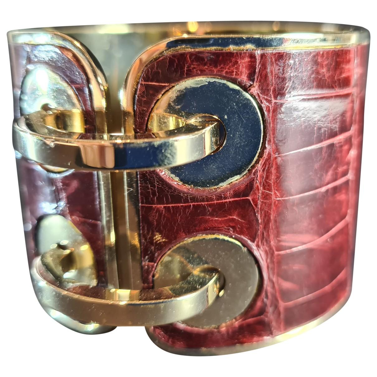 Michael Teperson - Bracelet   pour femme en plaque or - jaune
