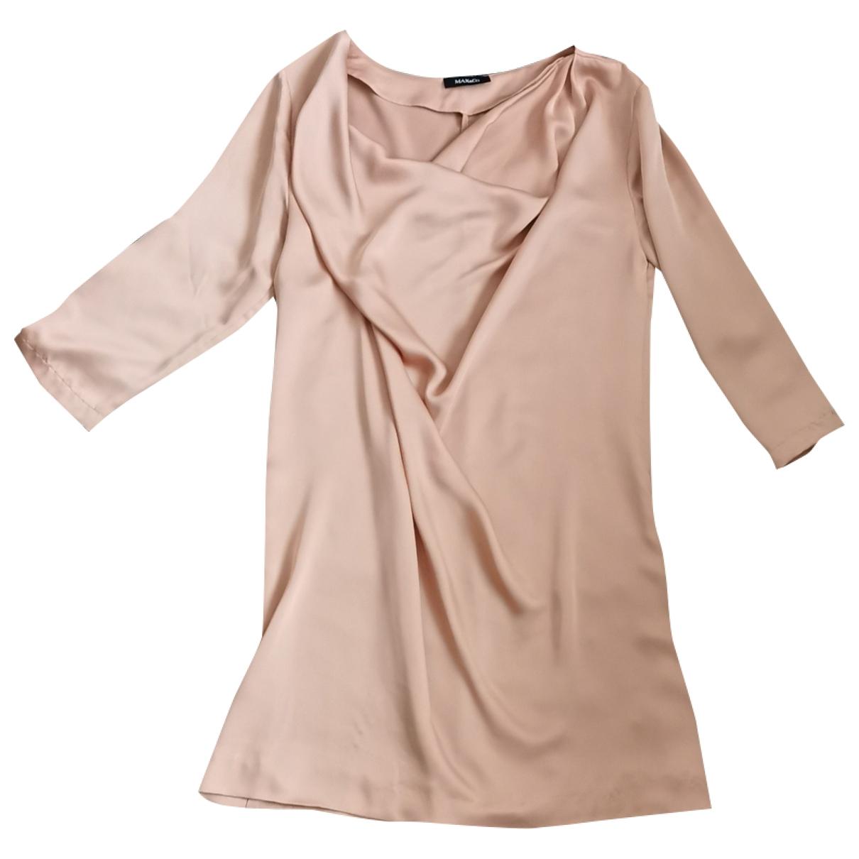 Max & Co - Robe   pour femme - dore