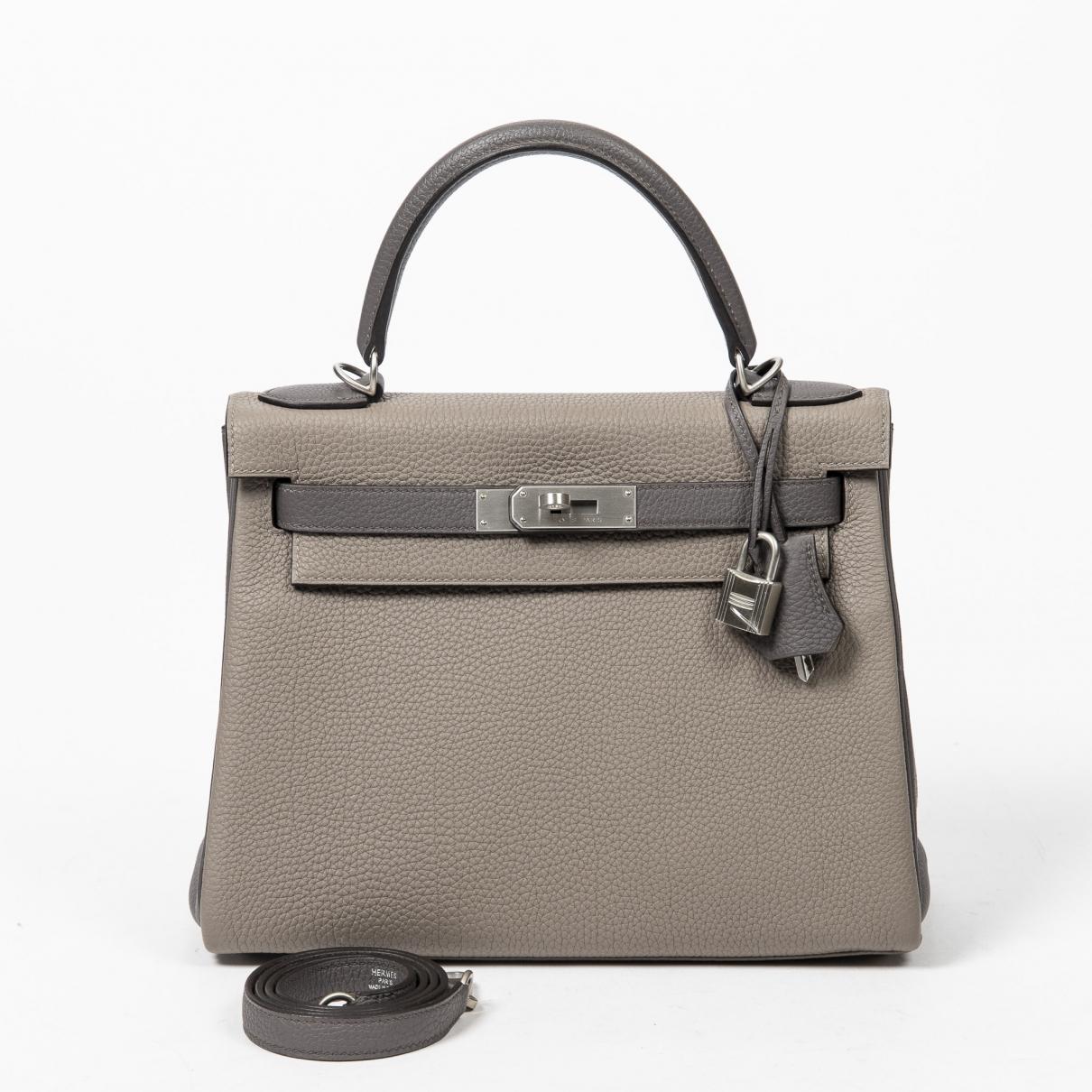 Hermès Kelly 28 Leather handbag for Women \N