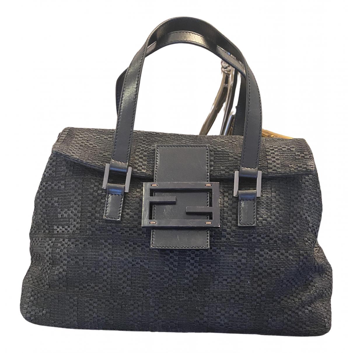 Fendi N Black Cloth handbag for Women N