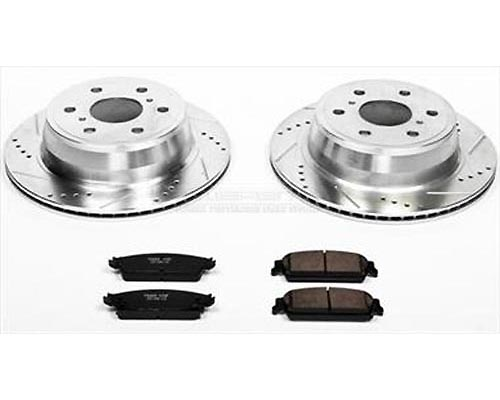 Power Stop K2083 Performance Brake Upgrade Kit Rear K2083