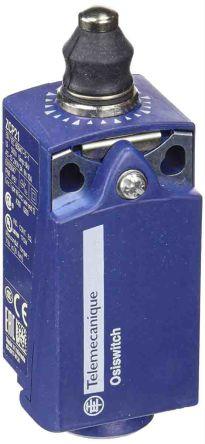 Telemecanique Sensors , Snap Action Limit Switch - Plastic, 1NC/1NO, Plunger, 240V, IP66, IP67