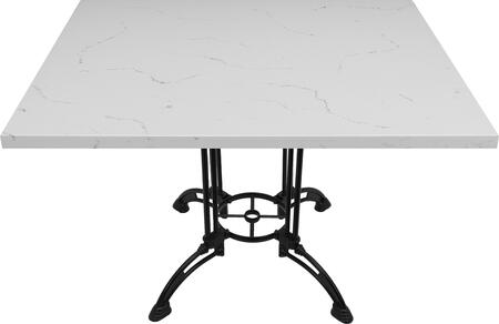 Q401 30X42-CA28-34D 30x42 Carrera White Quartz Tabletop with 24