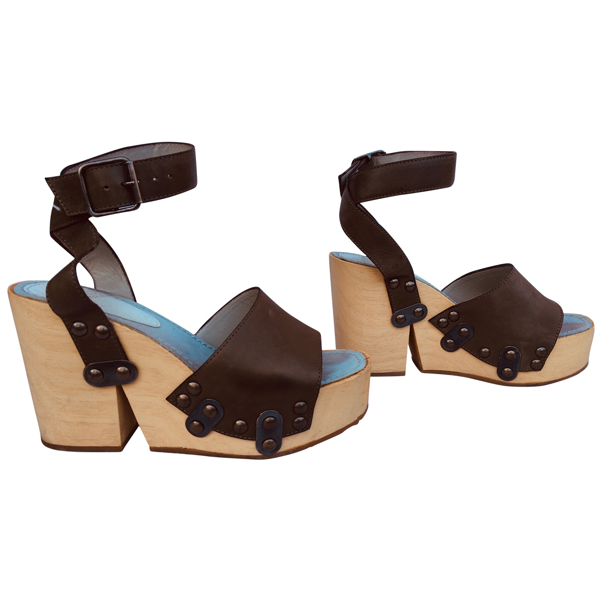 Maison Martin Margiela \N Leather Sandals for Women 36 EU