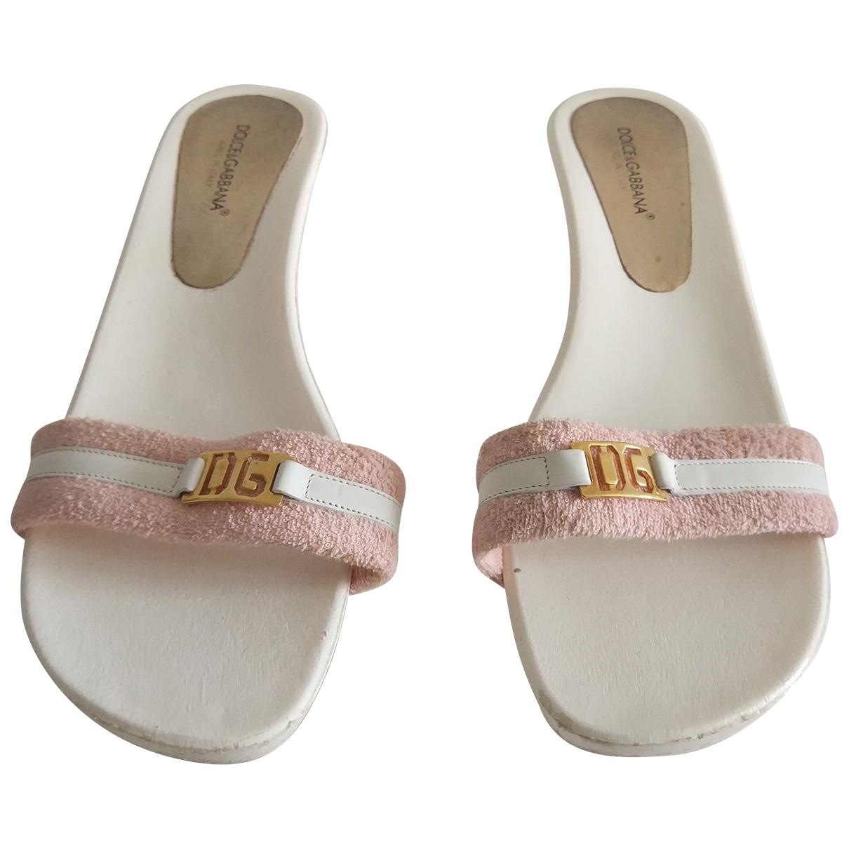 Dolce & Gabbana \N White Sandals for Women 41 EU