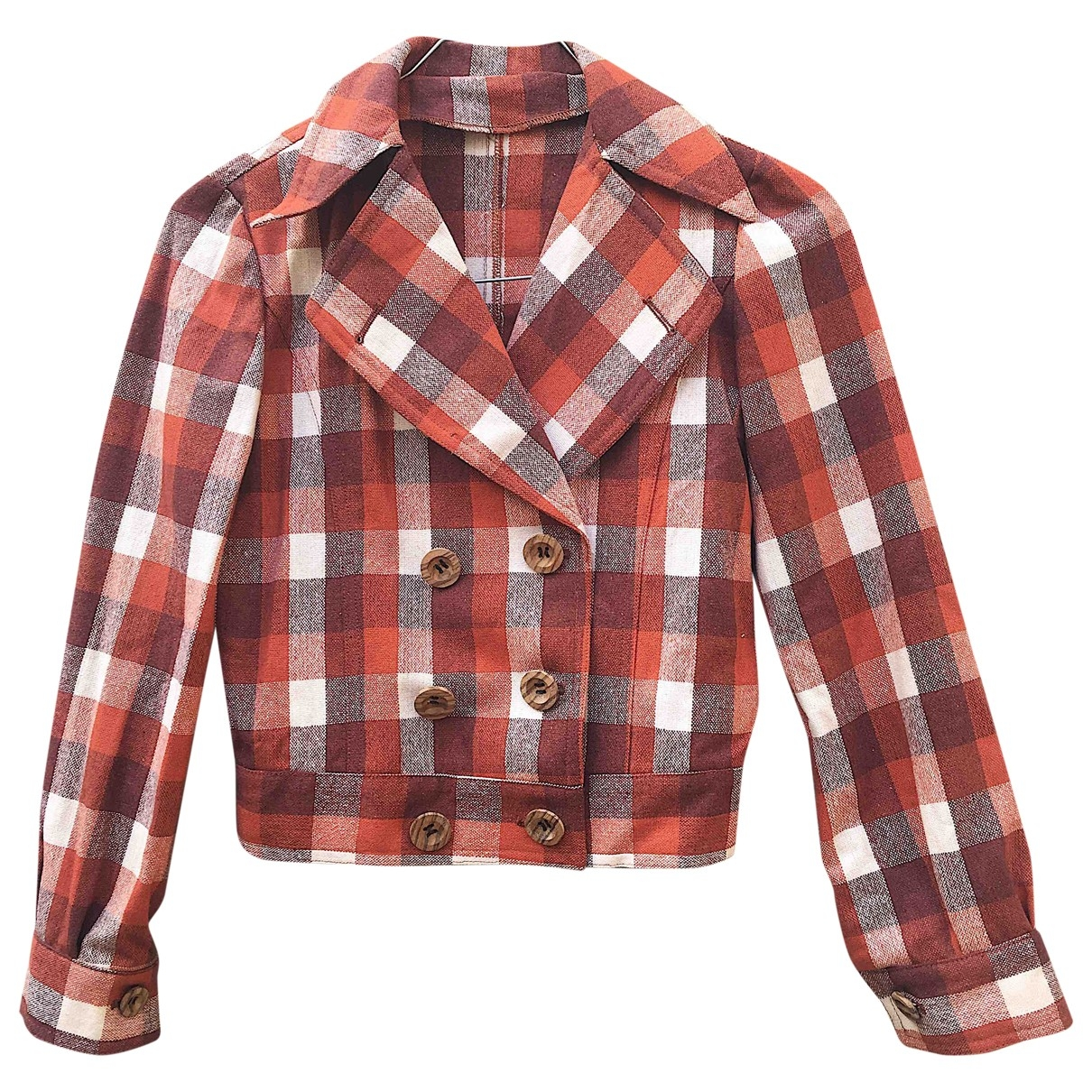 Non Signé / Unsigned \N Multicolour Wool jacket & coat for Kids 6 years - up to 114cm FR