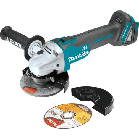 Makita 18V Lxt® Lithium-Ion Brushless Cordless 4-1/2 in. Cut-Off/Angle Grinder (Tool only)