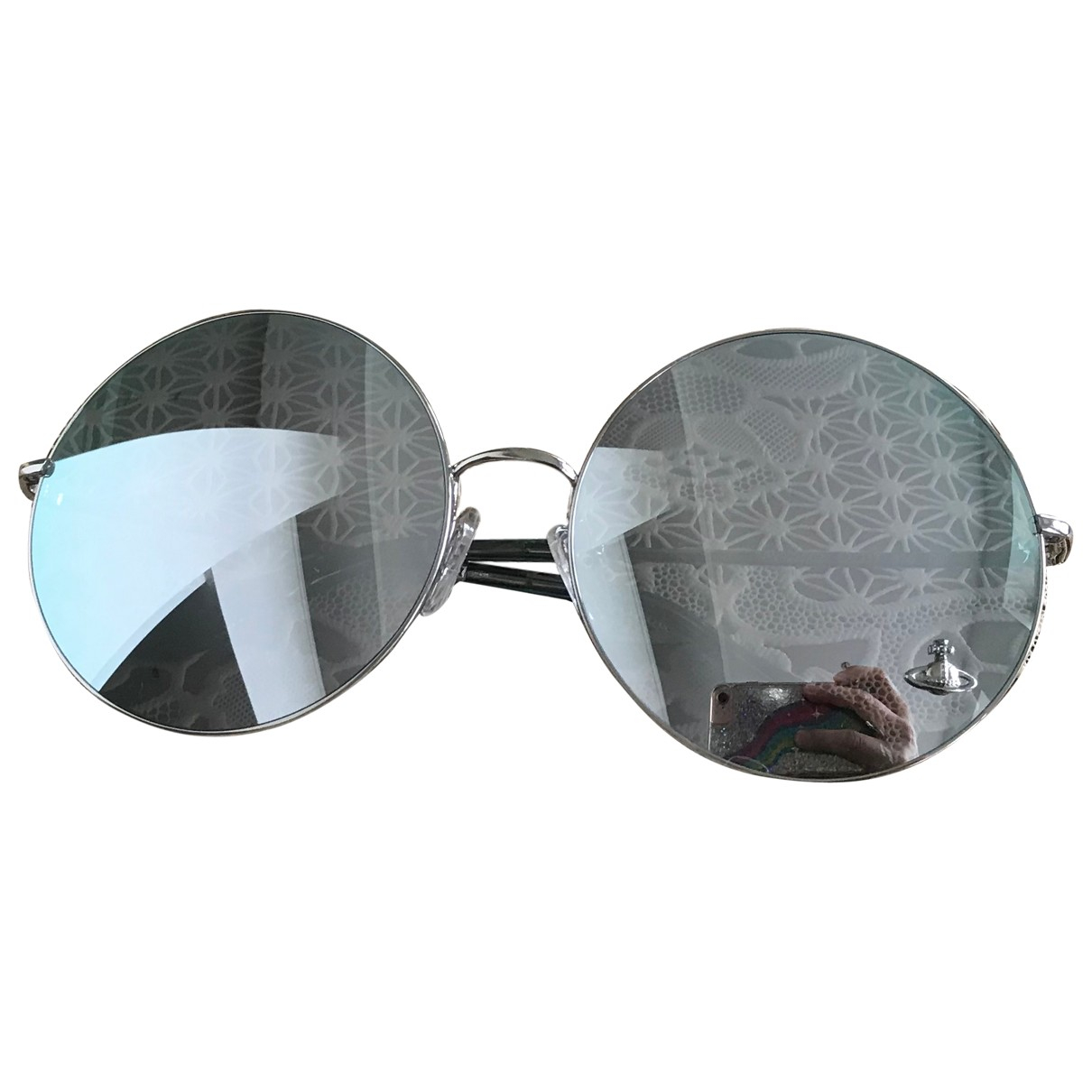 Vivienne Westwood \N Metallic Metal Sunglasses for Women \N