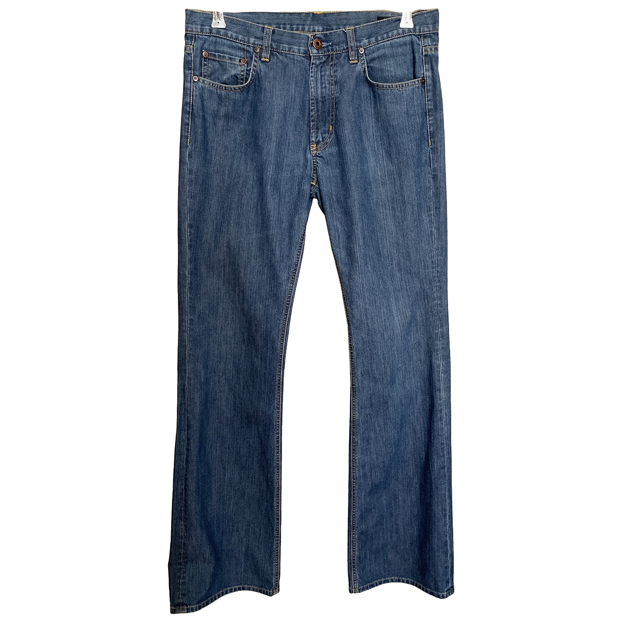 Miu Miu \N Blue Cotton Jeans for Men 33 US