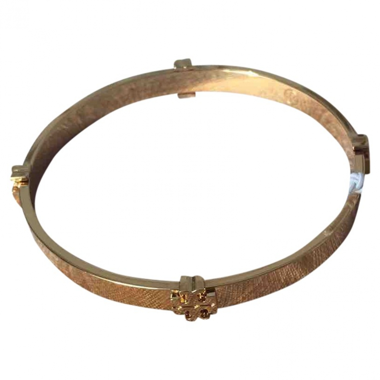 Tory Burch \N Armband in  Gold Metall