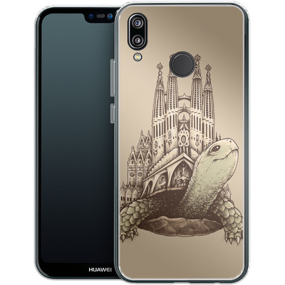 Huawei P20 Lite Silikon Handyhuelle - Slow Architecture von Enkel Dika