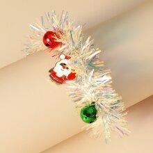 Christmas Bell Decor Bracelet