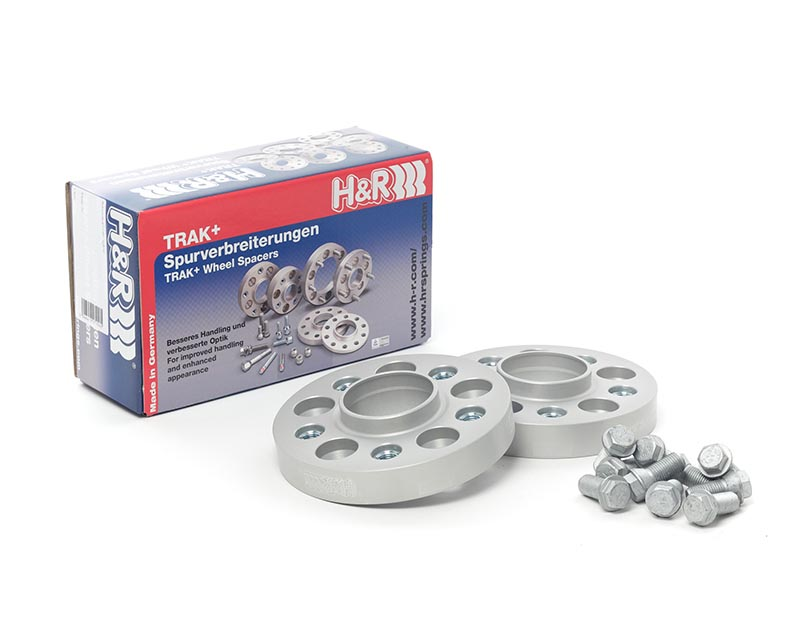 H&R 5025571 Trak+ | 5/100 | 57.1 | Bolt | 14x1.5 | 25mm | DRA Wheel Spacer Volkswagen Passat Sedan 4 cyl, Type 35i 90-97