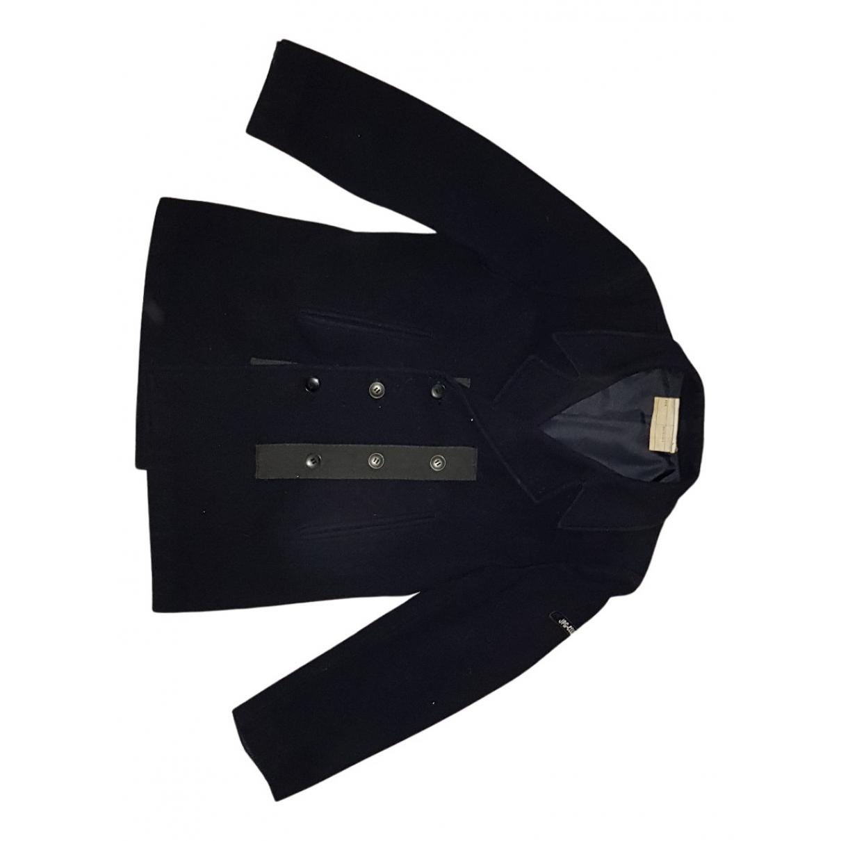 Jean Paul Gaultier \N Maentel in  Schwarz Wolle