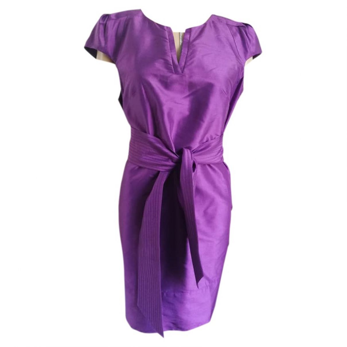 Coast \N Purple Silk dress for Women 12 UK
