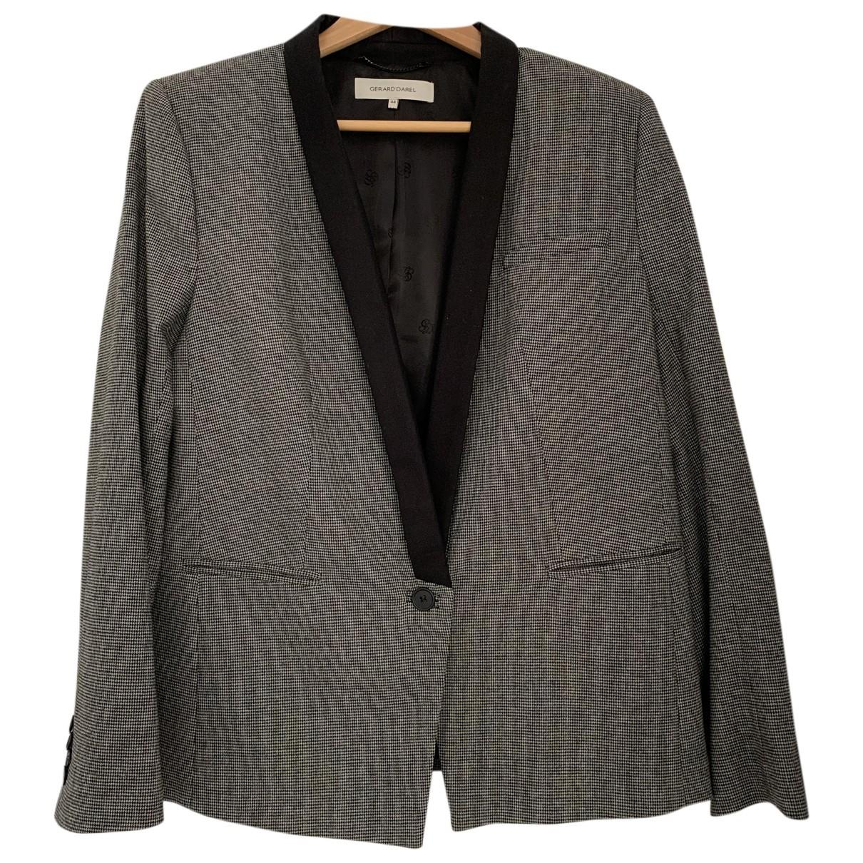 Gerard Darel - Veste   pour femme en laine - gris