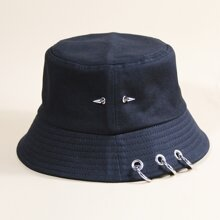 Ring Detail Bucket Hat