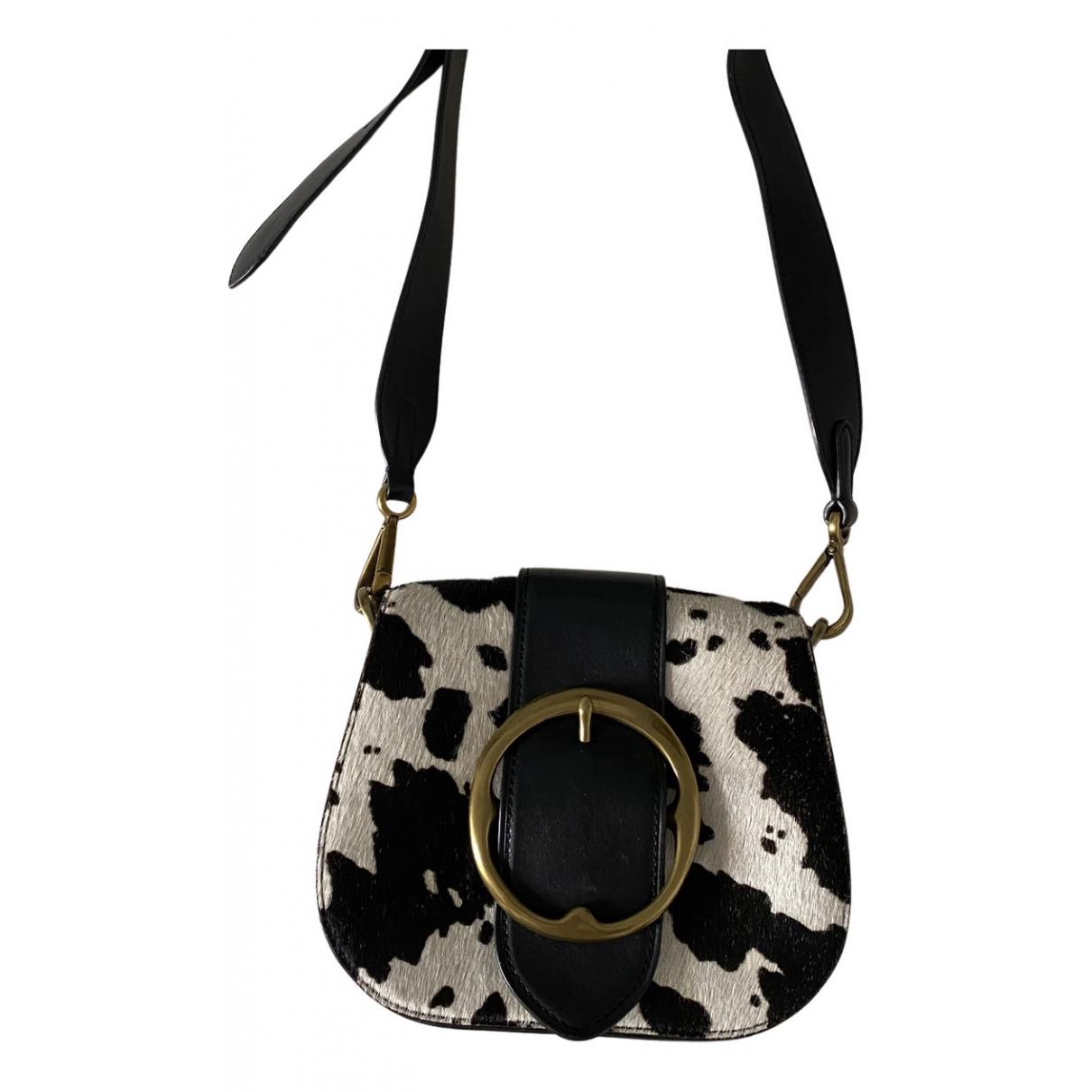 Ralph Lauren \N Handtasche in  Schwarz Kalbsleder in Pony-Optik