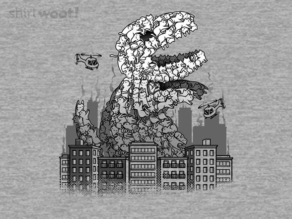 Catzilla Kaiju T Shirt