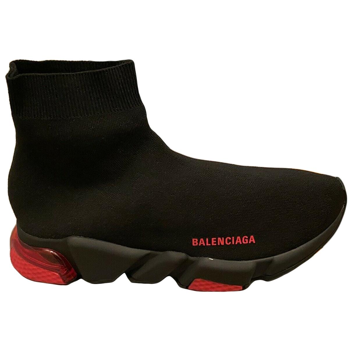 Balenciaga - Baskets Speed pour homme en toile - noir