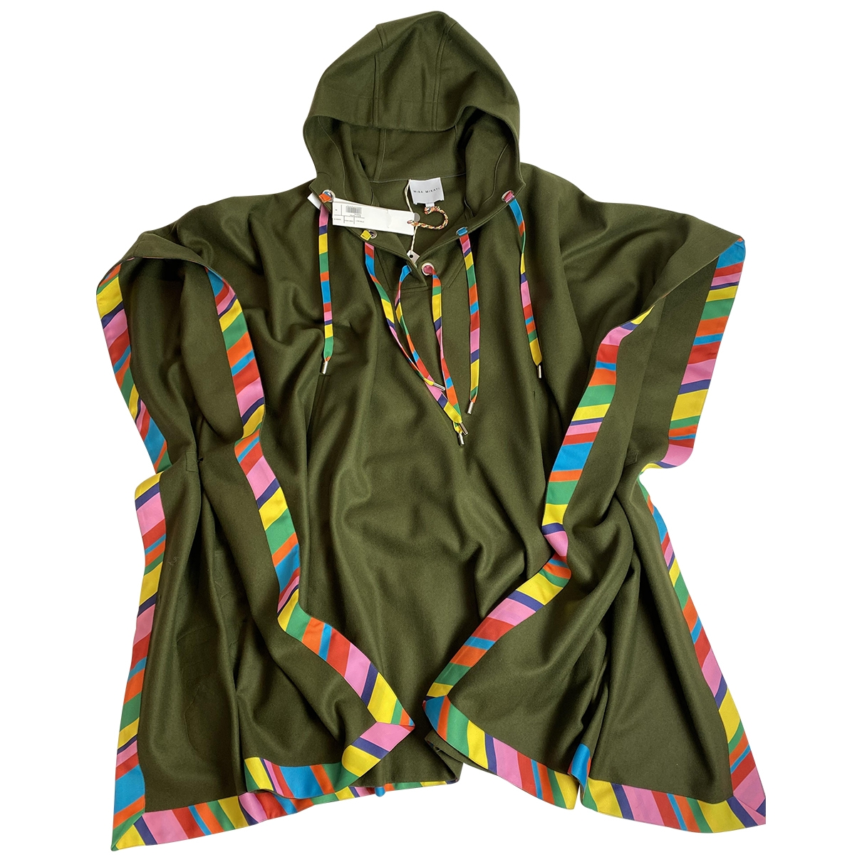 Mira Mikati - Manteau   pour femme en laine - kaki