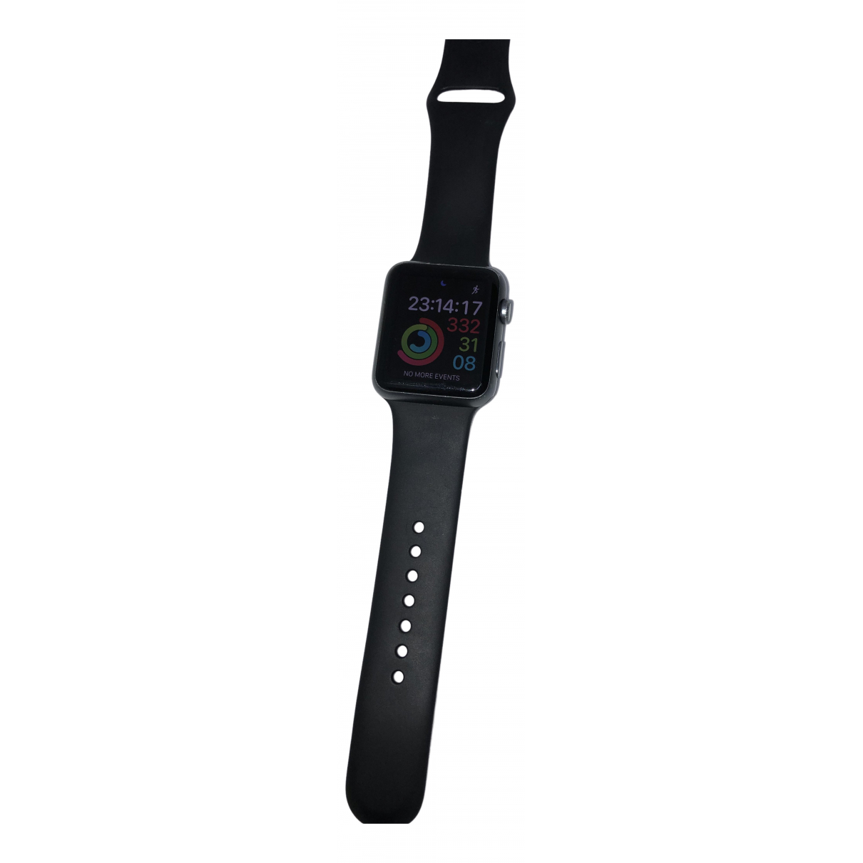 Apple Apple Watch 42mm Black Steel watch for Men \N