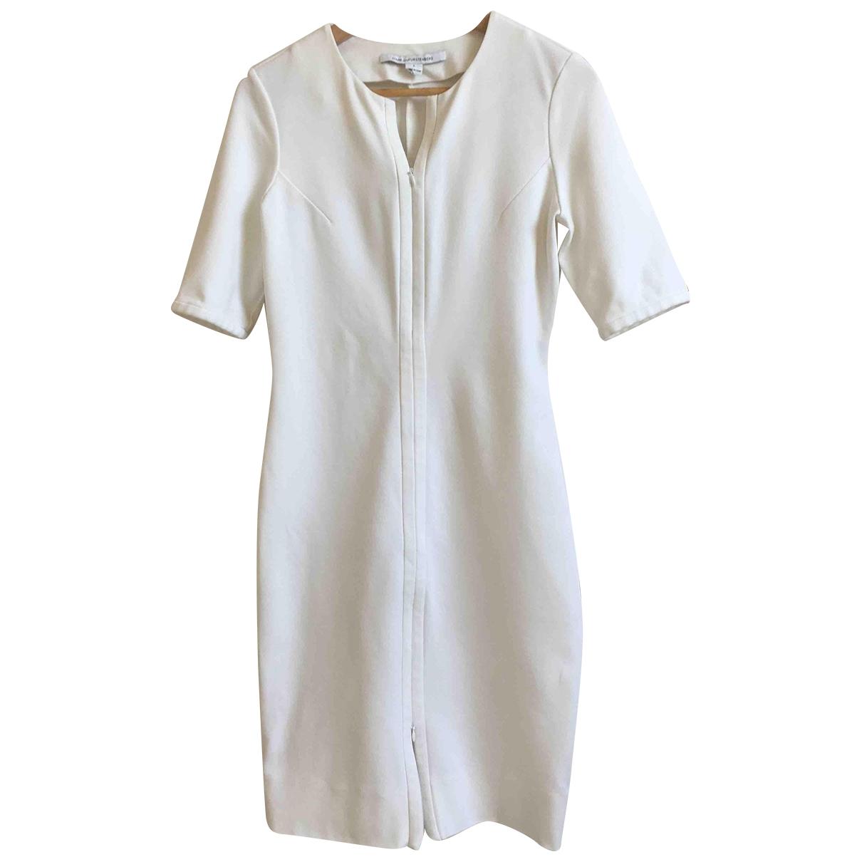 Diane Von Furstenberg \N White dress for Women 8 US
