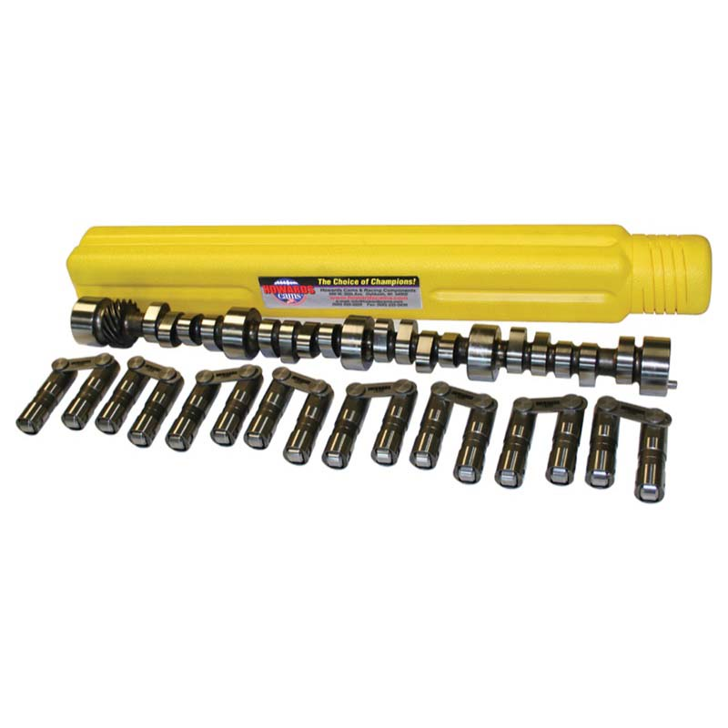Hydraulic Roller Camshaft & Lifter Kit; 1955 - 1998 Chevy 262-400 2400 to 6400 Howards Cams CL110635-10 CL110635-10