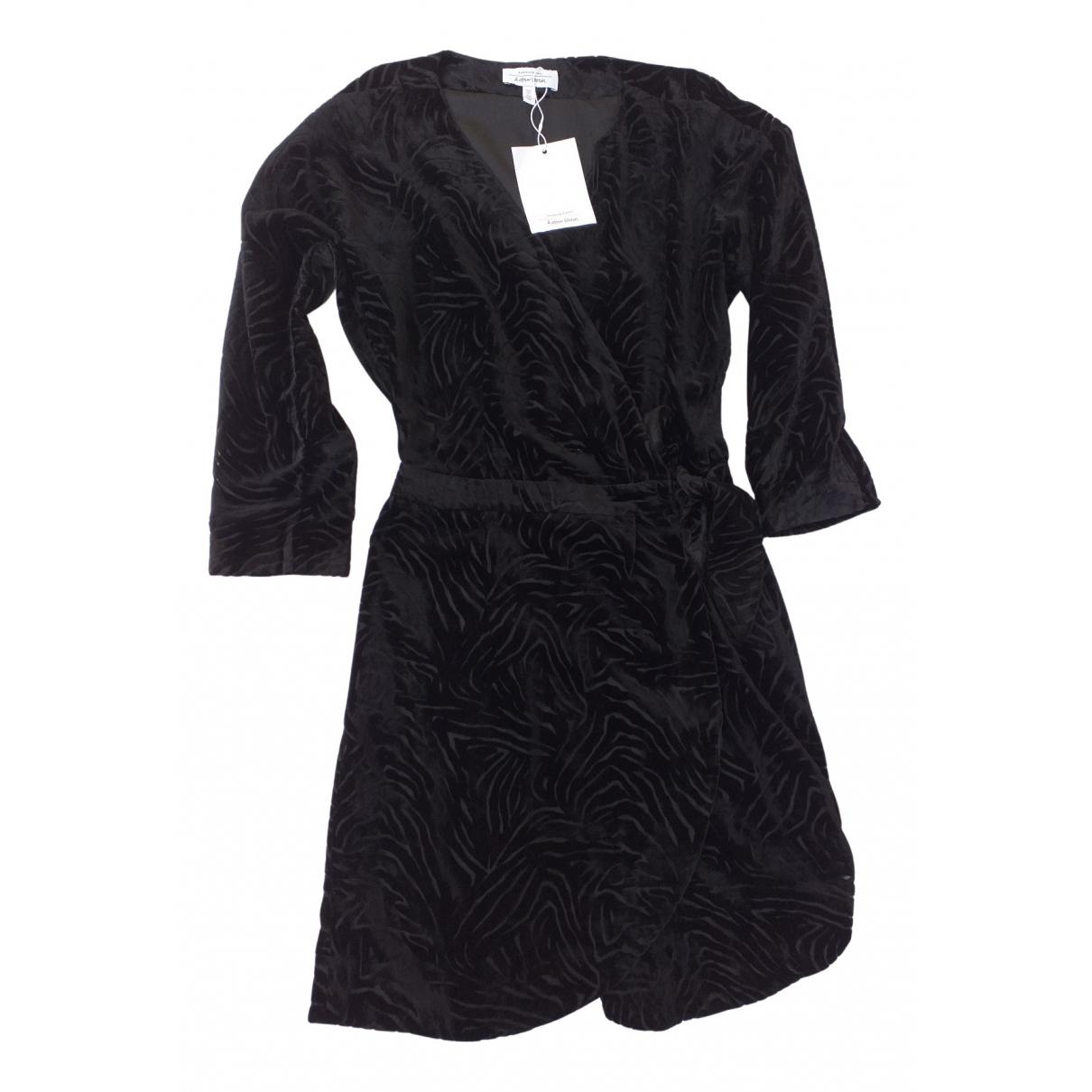 Mini vestido de Terciopelo & Other Stories