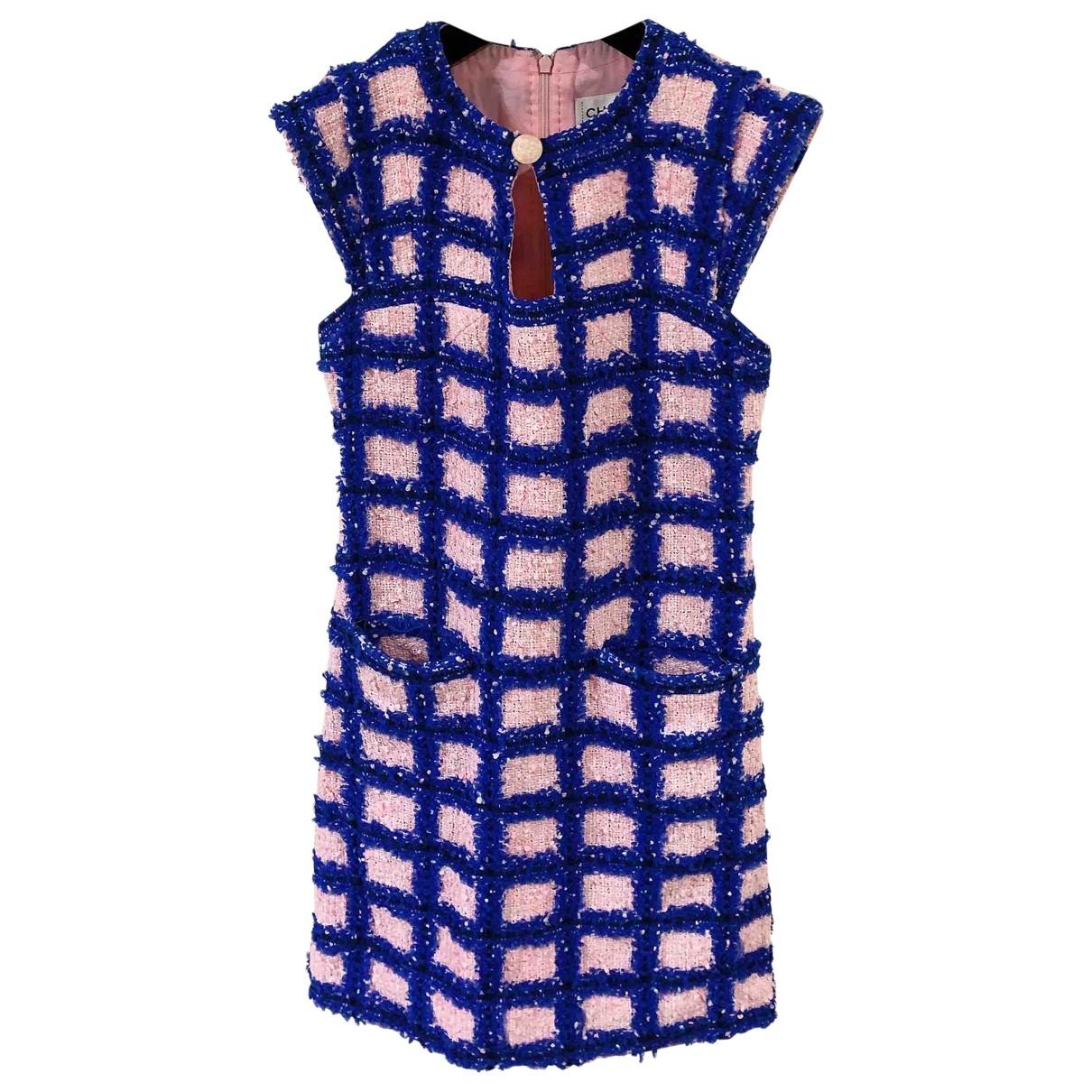 Chanel \N Kleid in  Bunt Tweed