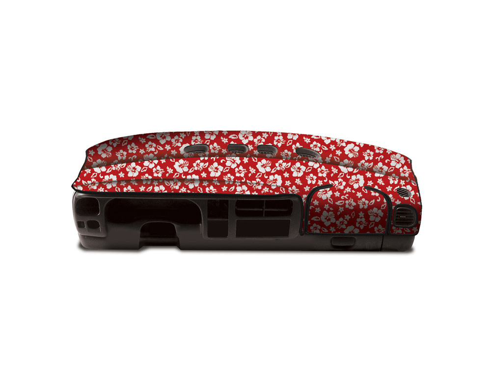 Cover King Custom Tailored Velour Dashboard Cover Hawaiian Red Chevrolet Camaro 1984-1992