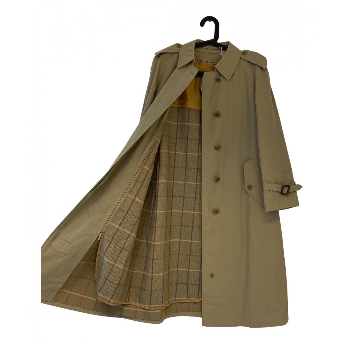 Burberry - Trench   pour femme en coton - kaki