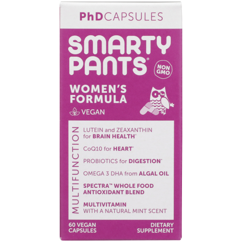 PhD Capsules Womens Formula 60 Count by SmartyPants