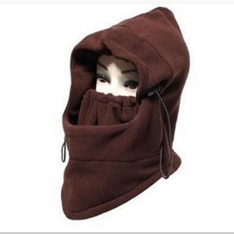 Cold Weather Motorcycle Neck Warm Fleece Balaclava Face Mask