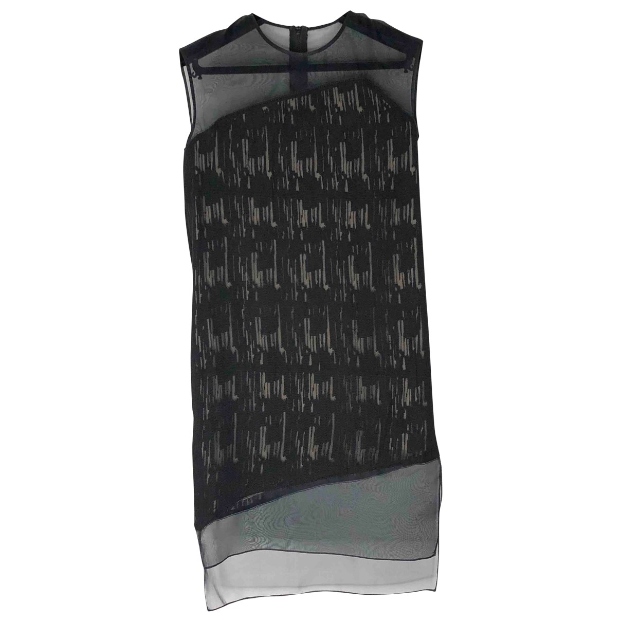 Helmut Lang - Robe   pour femme en soie - noir