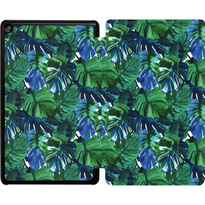 Amazon Fire HD 8 (2017) Tablet Smart Case - Welcome to the Jungle Palm Deep von Amy Sia