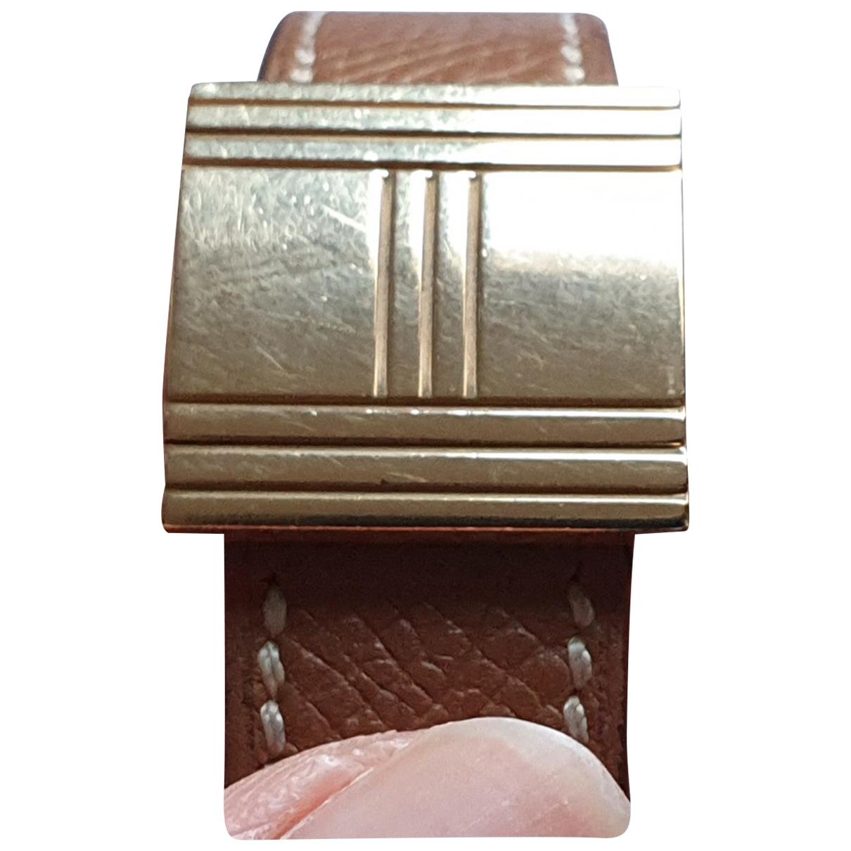 Hermès Glissade Gold Yellow gold watch for Women \N