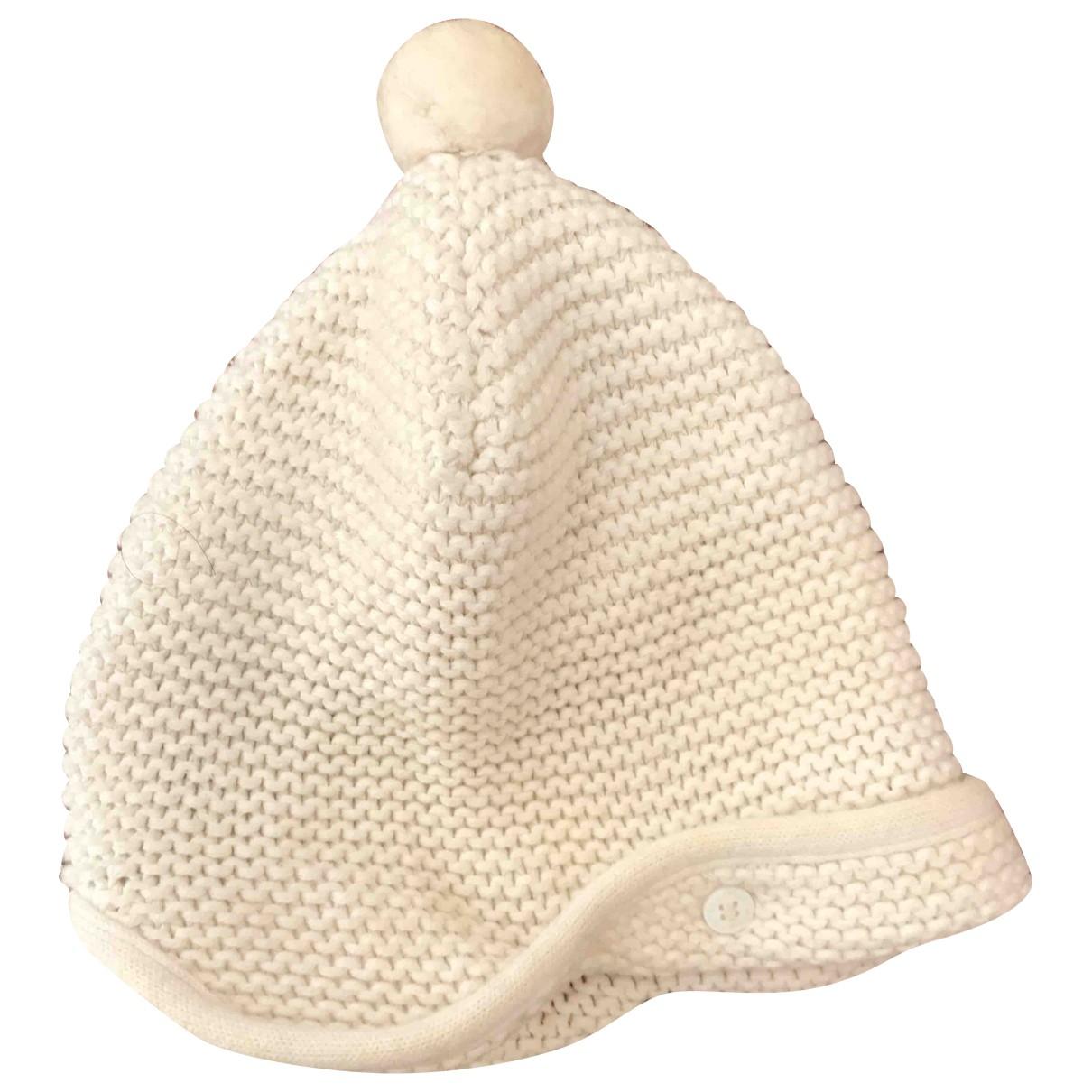 Stella Mccartney - Chapeaux.Bonnets.Gants   pour enfant en coton - ecru