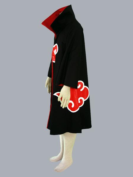 Milanoo Naruto Akatsuki Cloak Halloween Cosplay Costume
