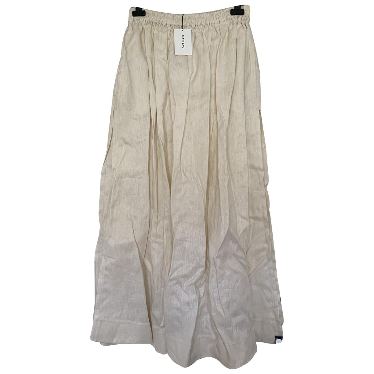 Falda maxi de Lino Matteau