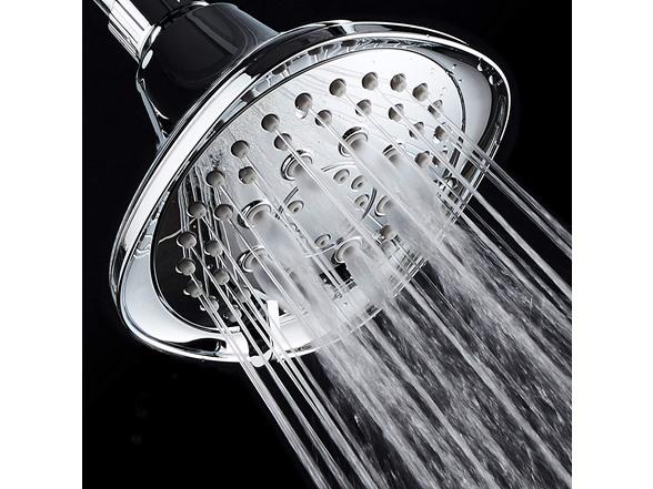 Aquadance Square Style High-pressure Shower Head