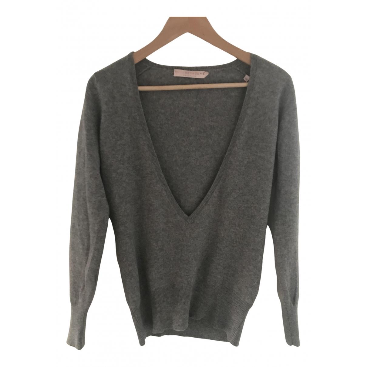 Ftc Cashmere - Pull   pour femme en cachemire - gris