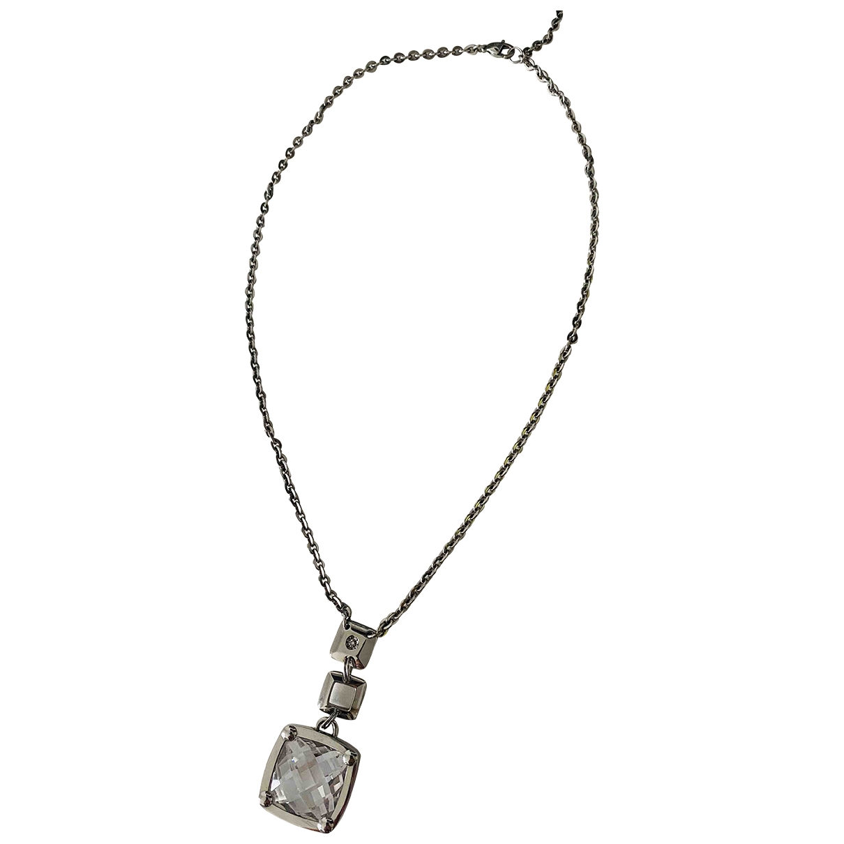 - Sautoir   pour femme en metal - argente