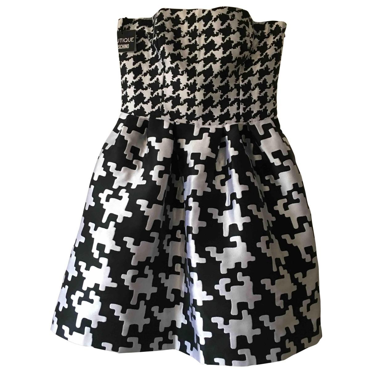 Moschino \N Kleid in  Schwarz Polyester