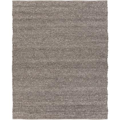 Tahoe TAH-3702 8' x 10' Rectangle Modern Rugs in Charcoal  Camel