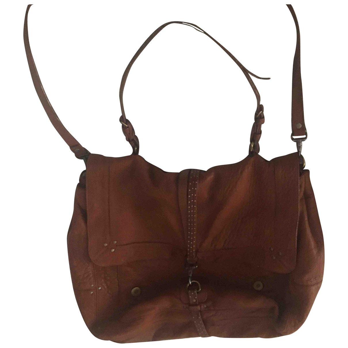 Jerome Dreyfuss \N Brown Leather handbag for Women \N