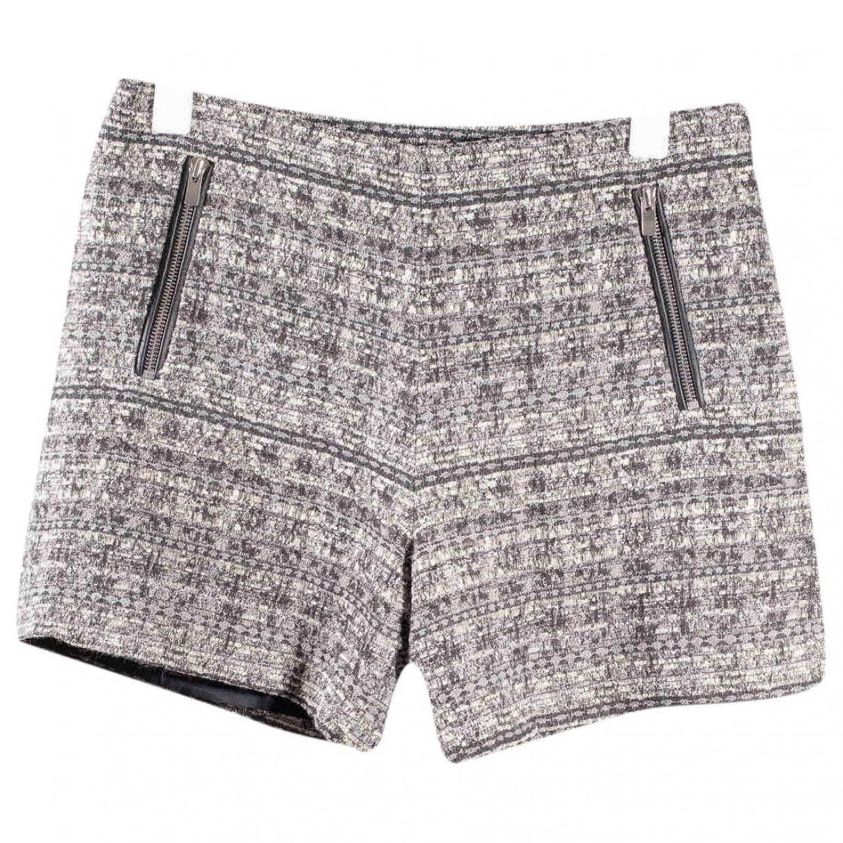 Claudie Pierlot \N Shorts in  Grau Wolle