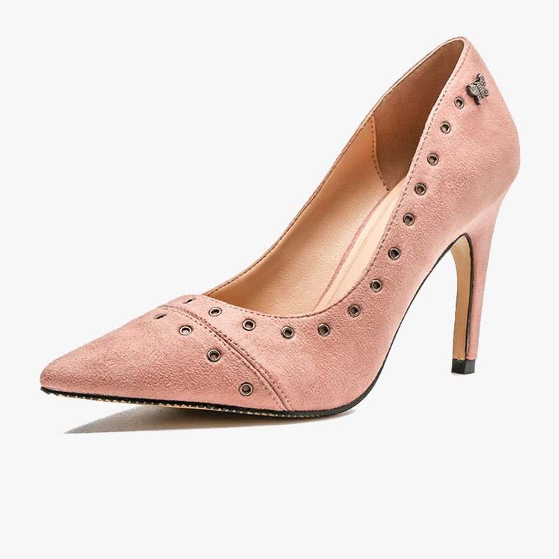 Ericdress Slip-On Pointed Toe Thread Casual Pumps