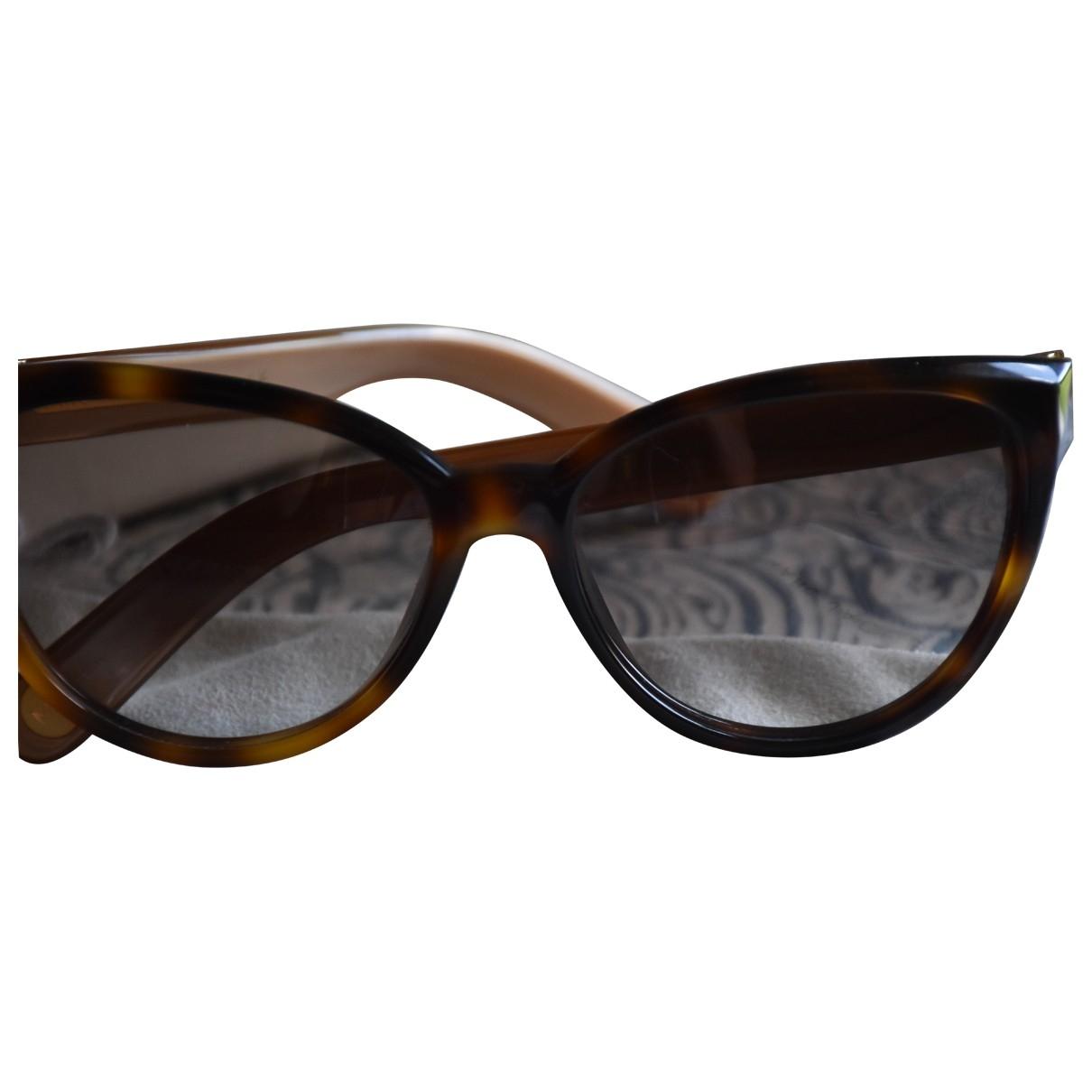 Marc Jacobs \N Sonnenbrillen in  Braun Kunststoff