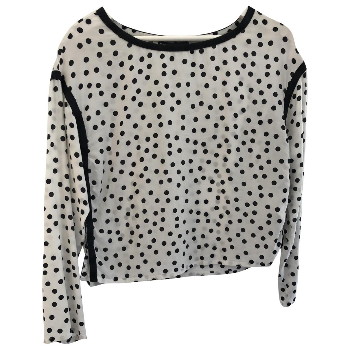 Dolce & Gabbana \N White Silk  top for Women 40 IT